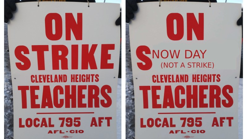 When Cleveland area teachers got paid to strike