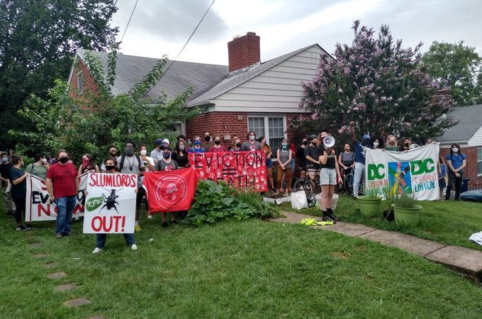 Eviction defense, Maryland, July 2020