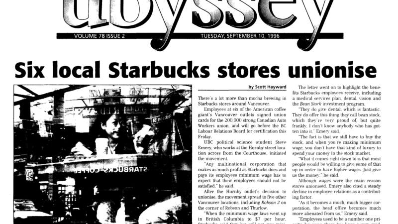 What worked and what didn't: A history of organizing at Starbucks