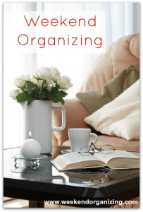 Weekend Organizing