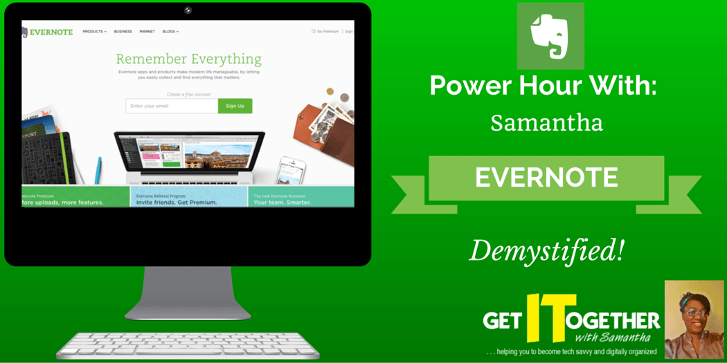 My Favorite Tech Tools: Evernote