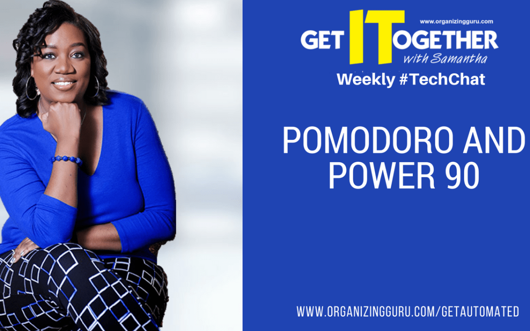 Pomodoro and Power90: The Power of Focus