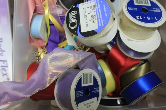 A Craft Room Rediscovered Part 4 - messy ribbon drawer