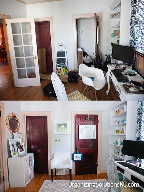 Photographers Home Office - Before and After 4