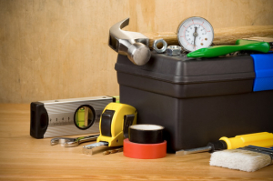set of tools and toolbox