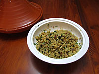 Couscous with currants and dates