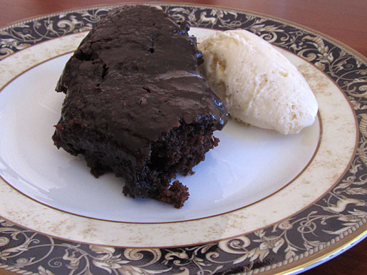 light as a feather chocolate sheet cake