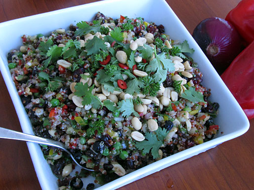 How to make curried quinoa salad