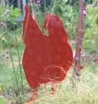 chicken cutout