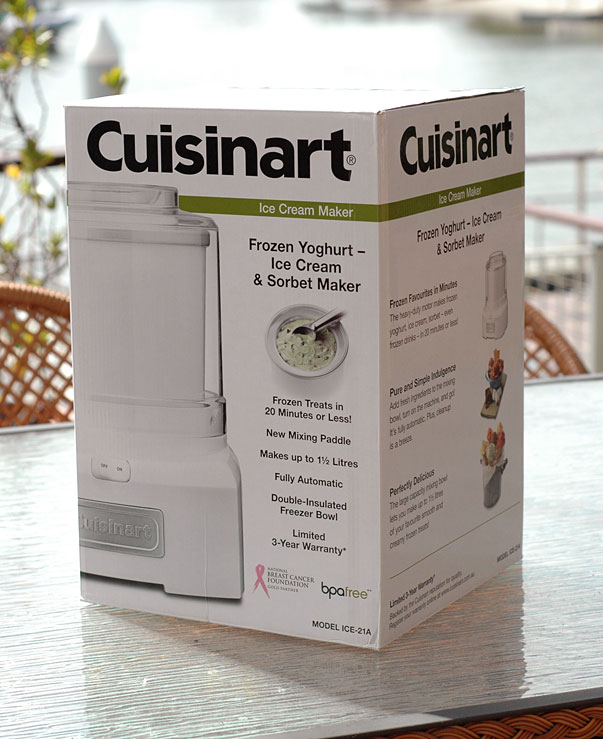 Win a Cuisinart ICE-21 A Ice Cream Machine