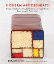 Modern Art Desserts - edible art