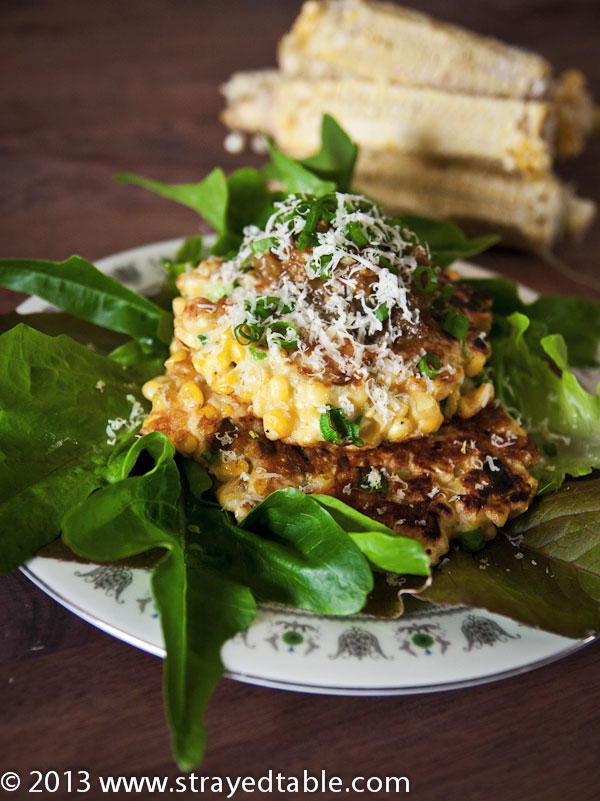 Lizzie's Corn Fritters