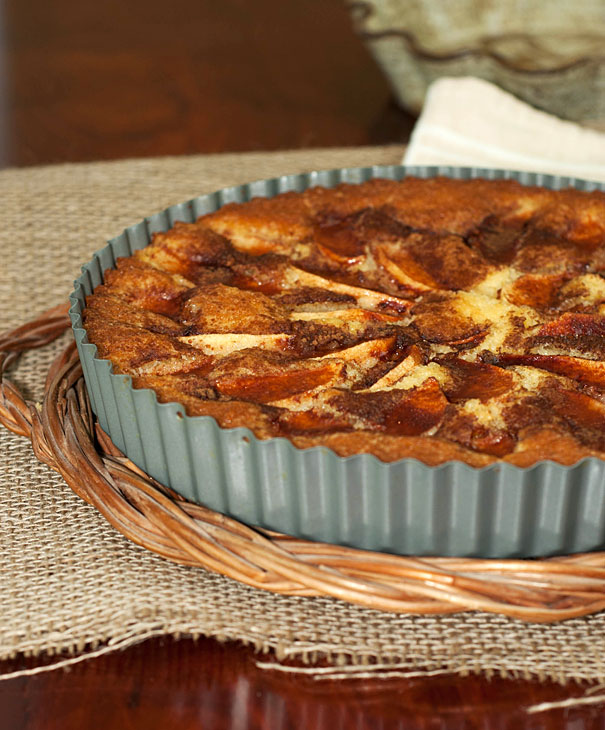 Eplekake (norwegian apple cake)