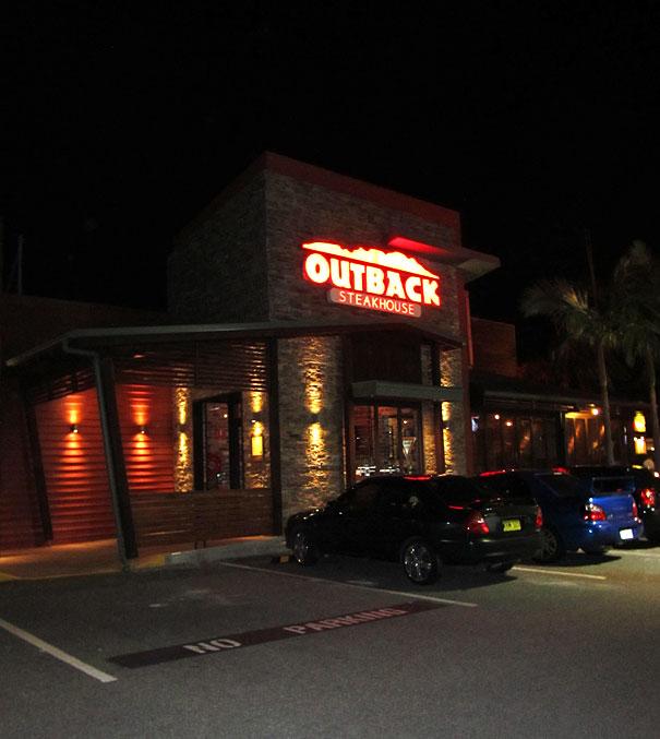Outback Restaurant Brisbane