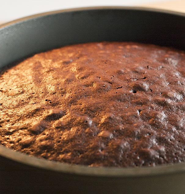 Double Dark Chocolate Cake