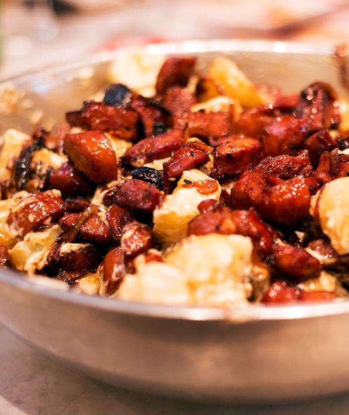 Drunken Chorizo Potato Salad