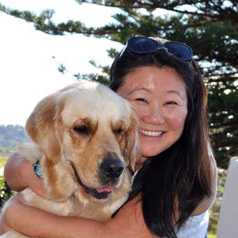 Nagi and her dog