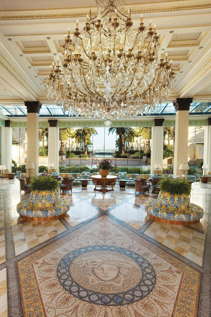 Lobby of the Palazzo Versace