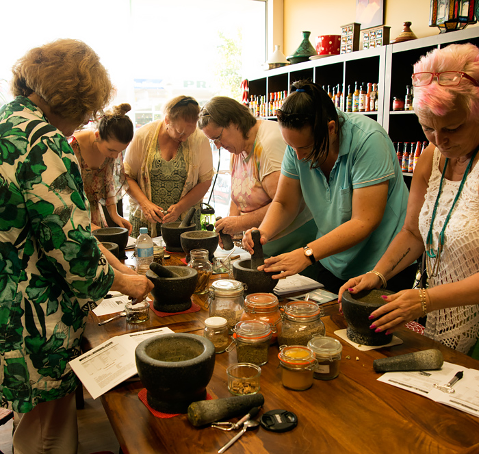 Spice Blending Masterclass at Red Hot Chilli Pepper
