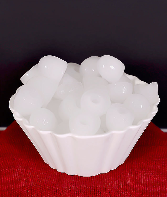 Bowl of Ice Cubes