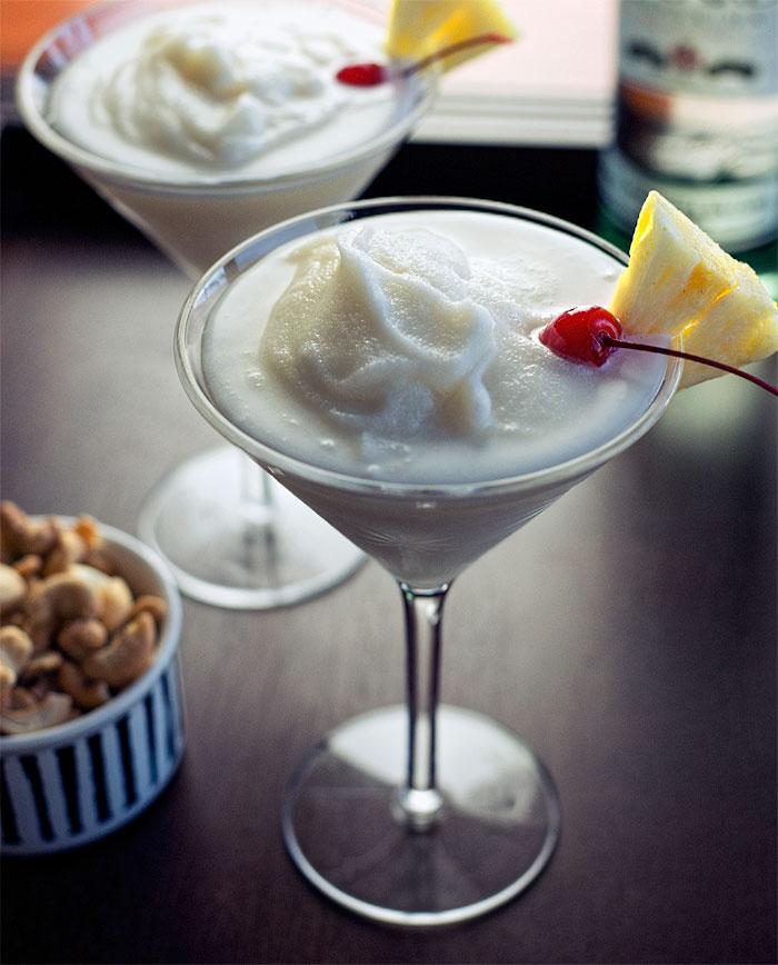Pina Colada, a wonderful way to celebrate summer.