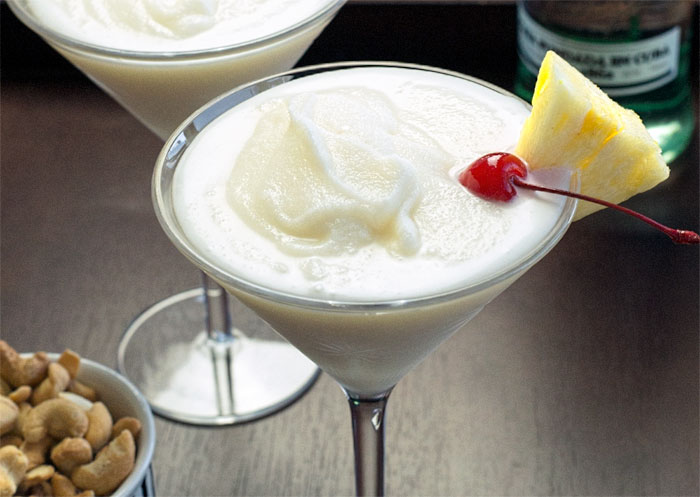 A pina colada as good as you'd get anywhere in the Caribbean!