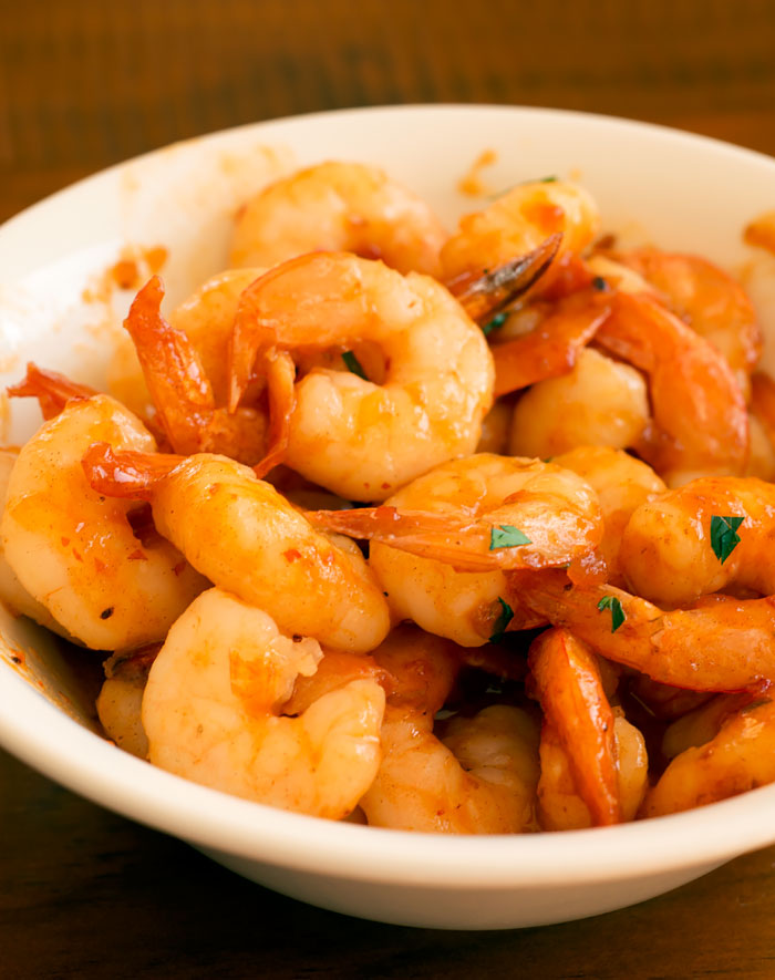 Prawns with Sweet Chilli Relish