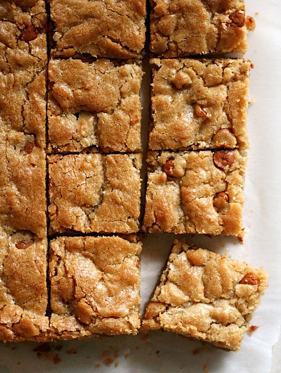 Butterscotch Blondies