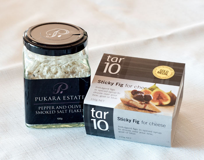 Pukara Estate Dukkah and sticky fig jam
