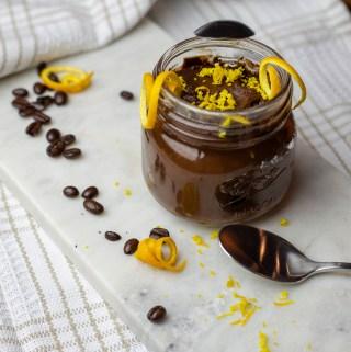 Vegan Chocolate Coffee & Orange Mousse