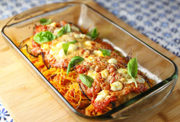 This Baked Rolled Eggplant Stuffed with Spaghetti is a crowd favorite! This is so easy to make and super tasty!
