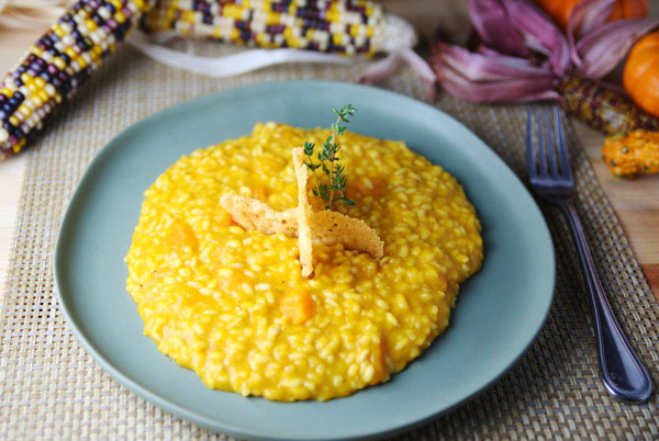 This Butternut Squash Risotto is so velvety, creamy, and delicious!