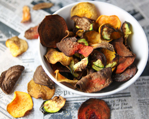 These Air Fryer Veggie Chips are super easy to make! This is such a great healthy light snack that is loaded with flavor!