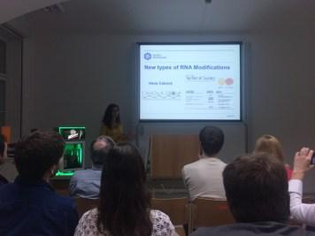 New types of RNA Modifications - Hana Cahová