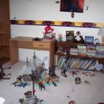 Tackle it Tuesday – Organizing my son's bedroom