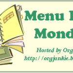 Menu Plan Monday – July 2nd