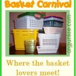 Show me your baskets!