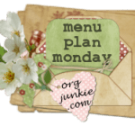 Menu Plan Monday ~ March 15th + giveaway