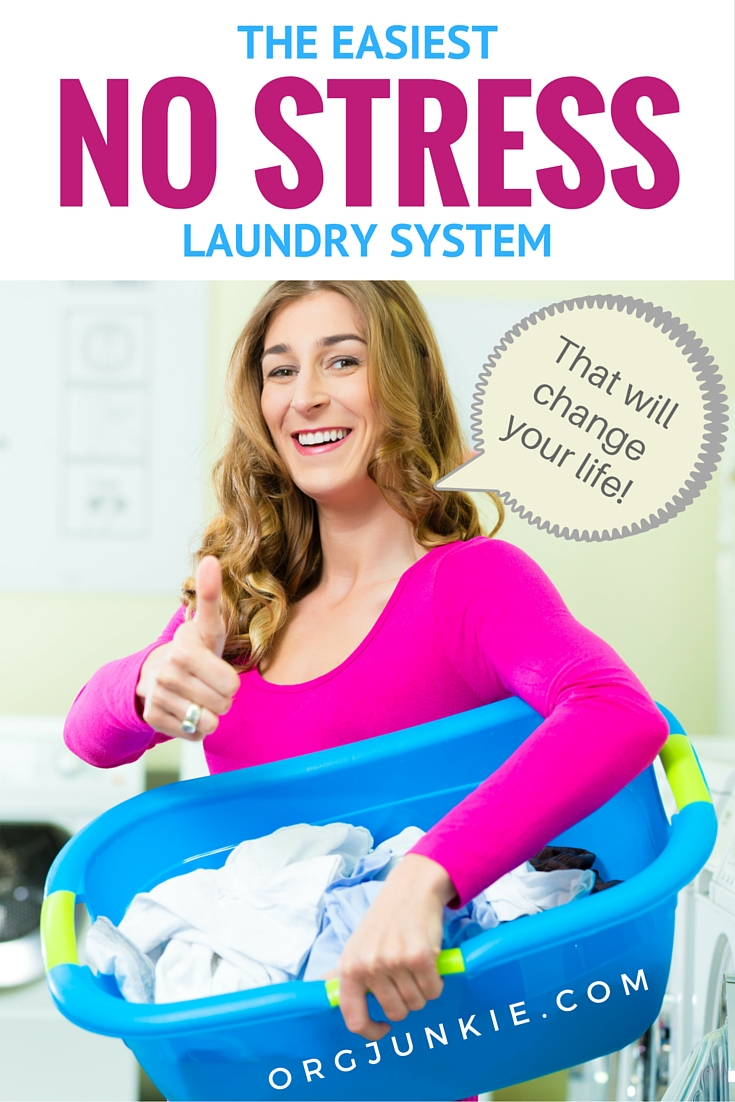 The Easiest No Stress Laundry System
