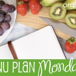 Menu Plan Monday ~ Aug 2nd