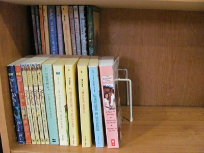 Double your space with wire shelves & dividers -