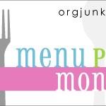 Menu Plan Monday ~ Dec 27th