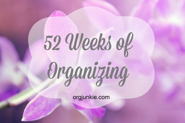 52 Weeks of Organizing