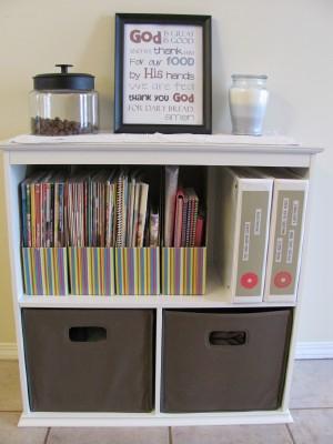 A Fun & Functional Bookshelf -