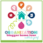 Spring Into Organization Link Party!!!