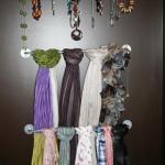 4 Inexpensive Ways to Organize Scarves