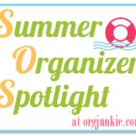 Summer Organizer Spotlight ~ Marcia Francois