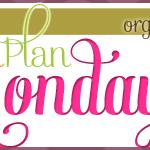 Menu Plan Monday ~ October 29/12