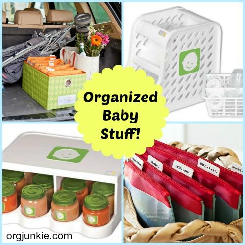 Organized Baby Stuff