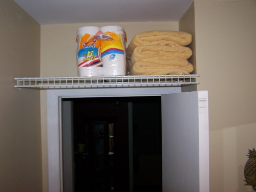 Utilize Extra Storage Space Above Your Doors